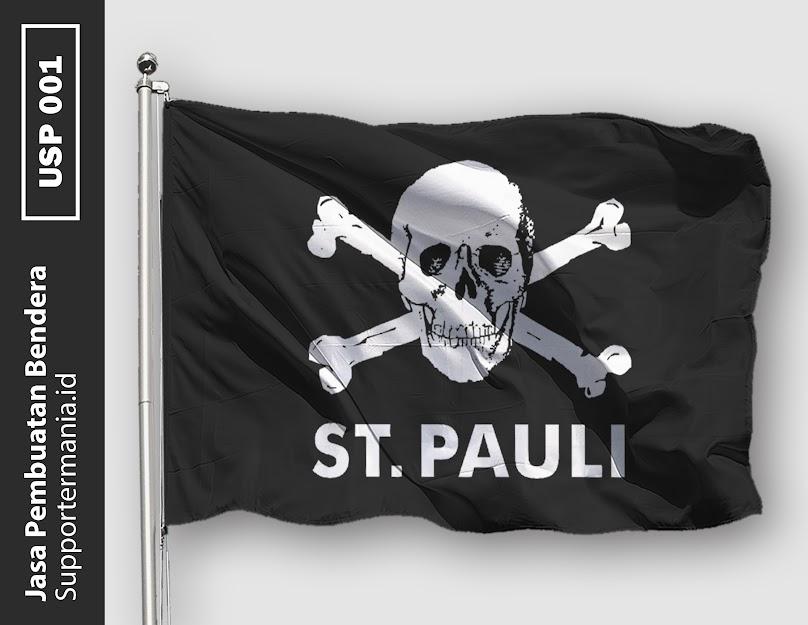 Desain Bendera atau Mini Flag Ultras ST Pauli