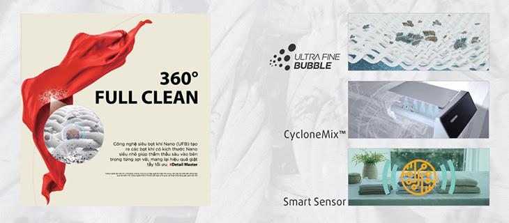 Công nghệ 360 full clean