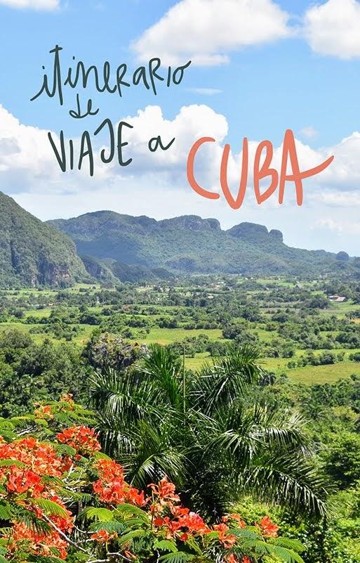 itinerario viaje Cuba