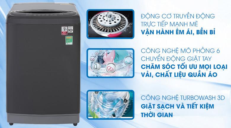 Dòng máy giặt LG có DD Inverter