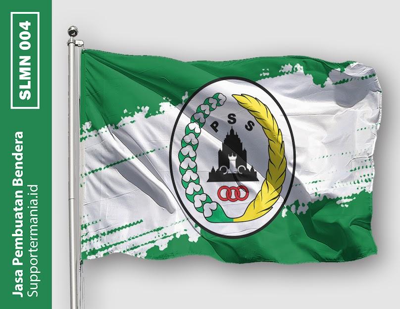 Desain Bendera atau Mini Flag PSS Sleman dan BCS 4