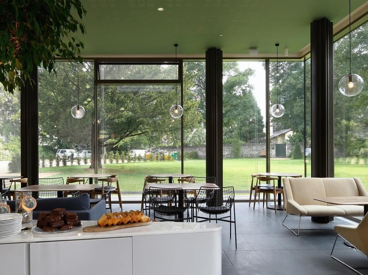 thiết kế quán cafe đẹp