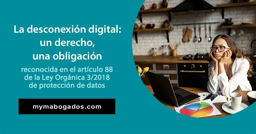 La desconexión digital: derecho al descanso, una obligación | Melián Abogados