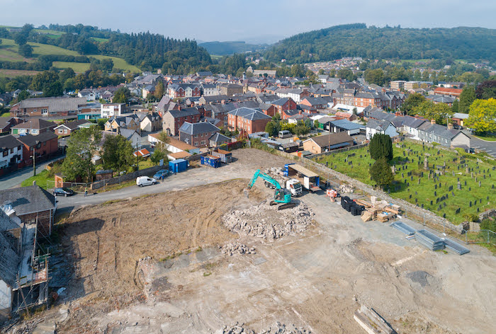 Work starts on new council homes