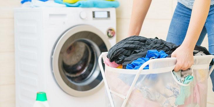 Khối lượng quân áo giặt phải phù hợp