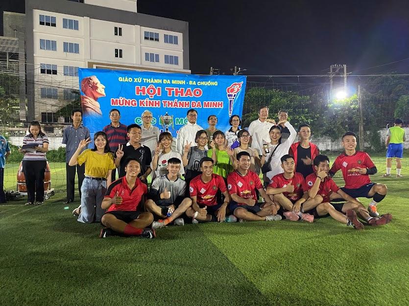 Vài hình ảnh giải bóng đá mừng Bổn mạng Đa Minh năm 2020