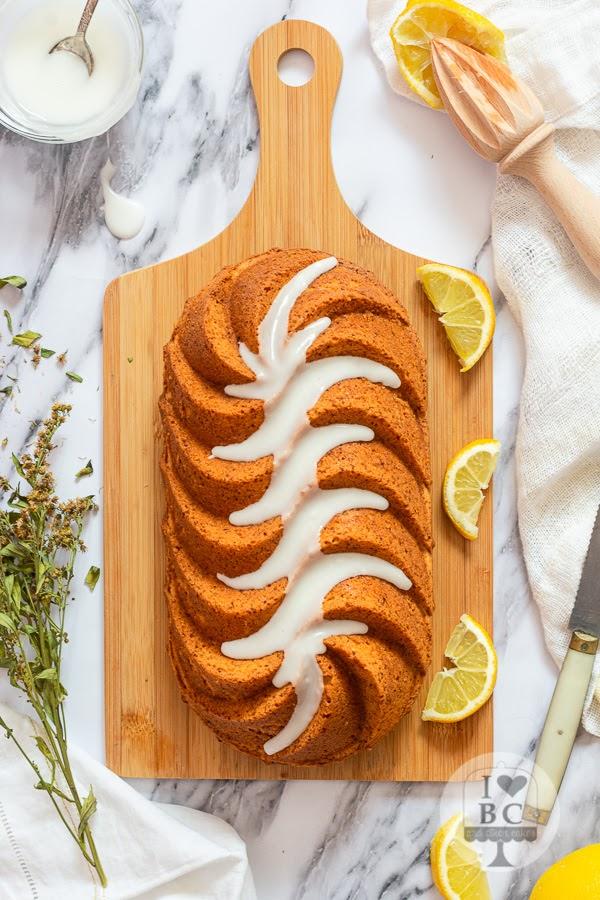 Loaf Cake de limón y coco