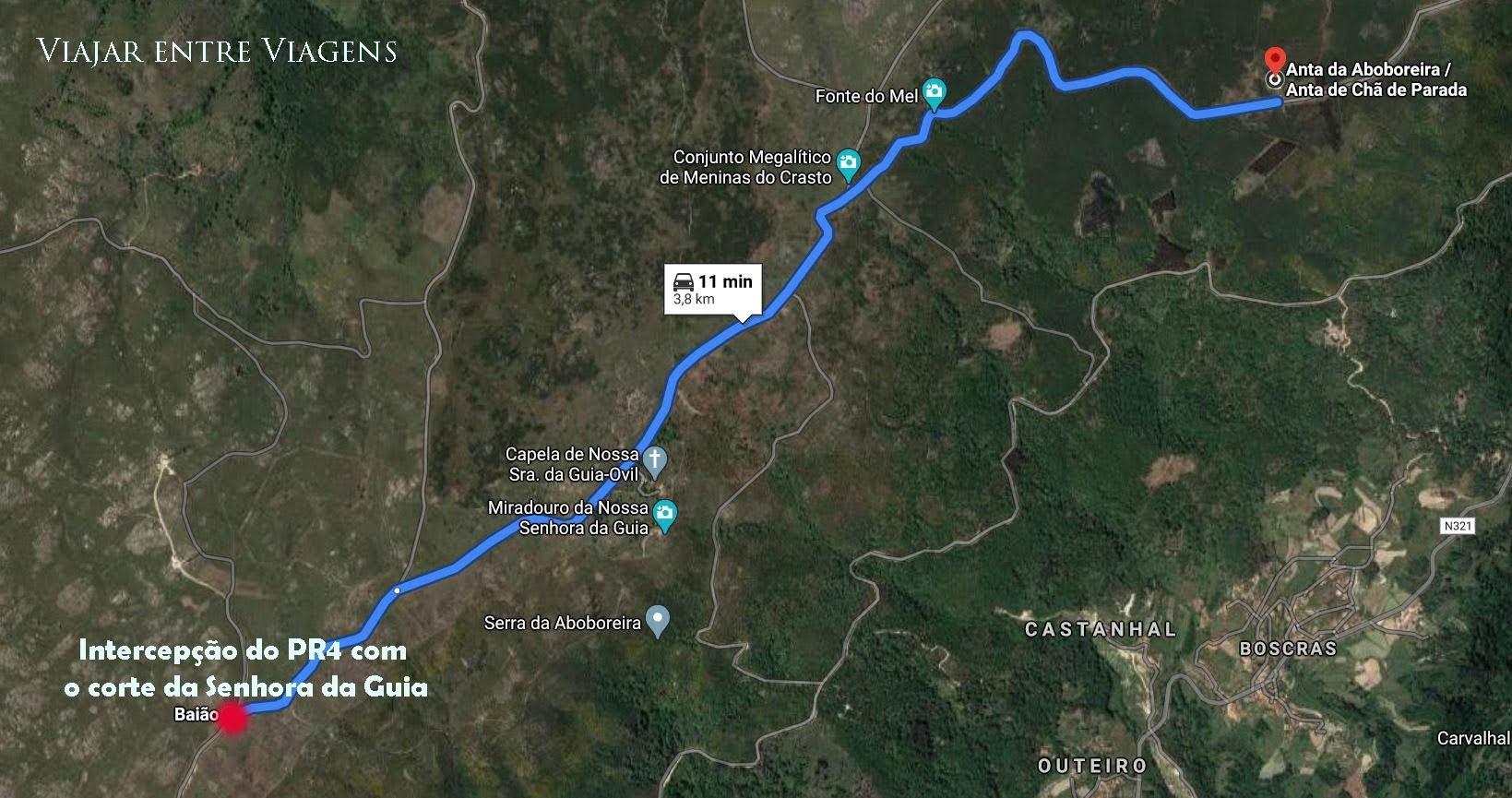 TRILHO DOS DÓLMENS - PR4 BAO/MCN/AMT | Um percurso que permite (com desvios) apreciar o melhor da Serra da Aboboreira