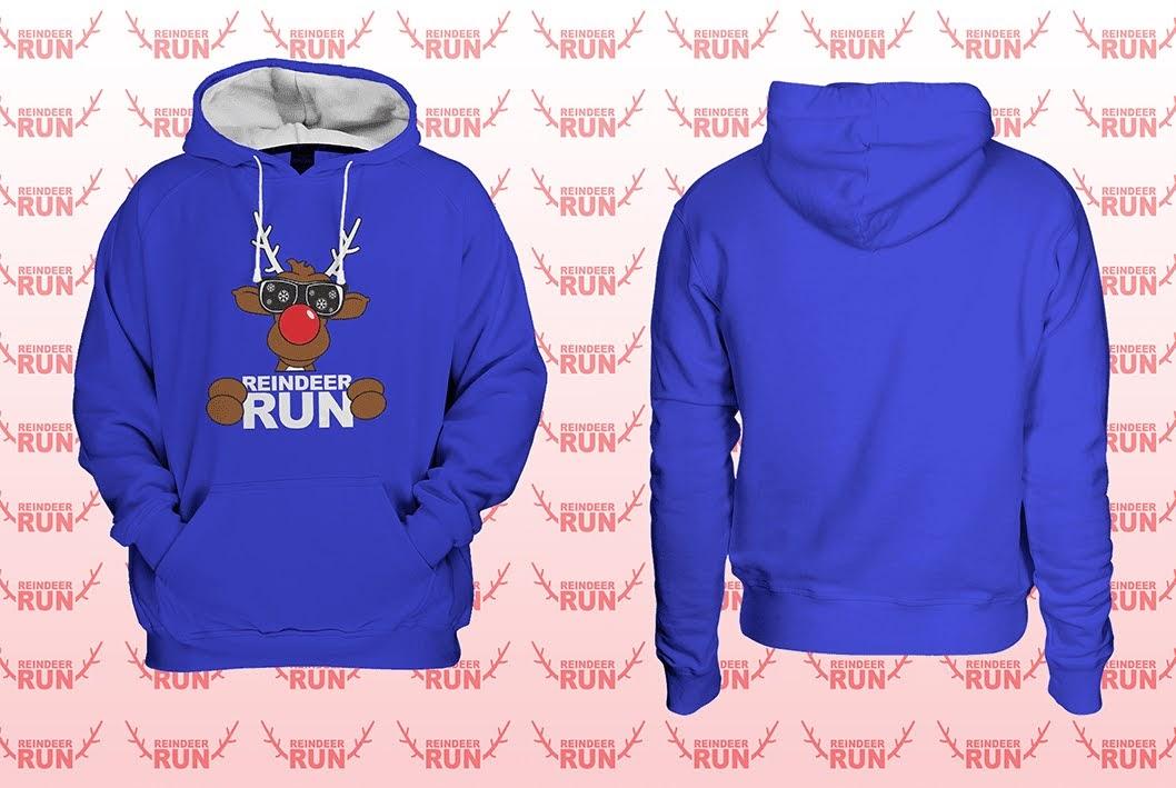 NEW 2020 Reindeer Run Varsity Hoodie