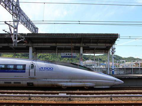 JR西日本 山陽新幹線「こだま742号」500系新幹線V3編成 サイド