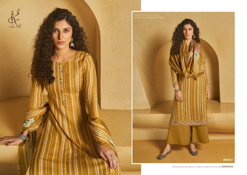 Tarang Kapil Fab Pashmina Dress Material Manufacturer Wholesaler