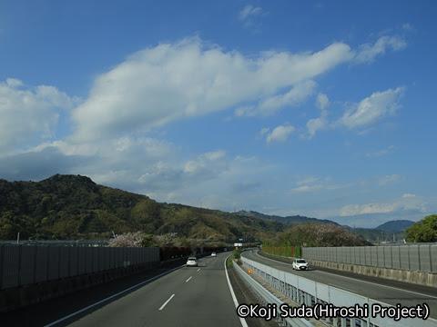 JRバス関東「グラン昼特急8号」 ・・12 2階 最前席からの眺望_14