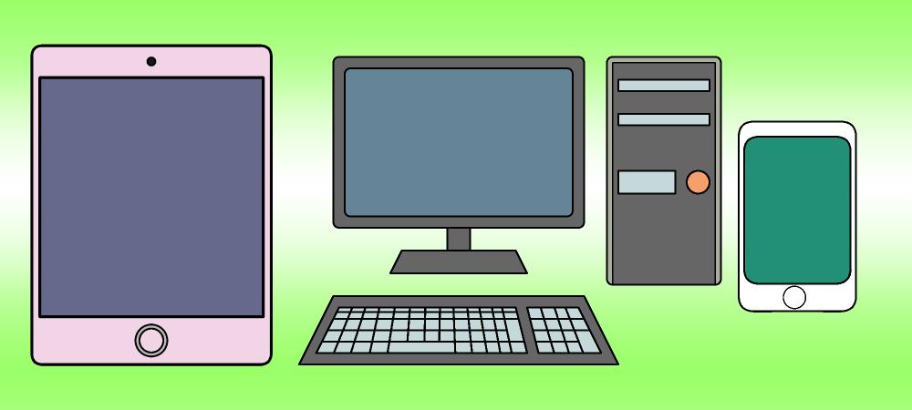 パソコン/iPad/iPhone