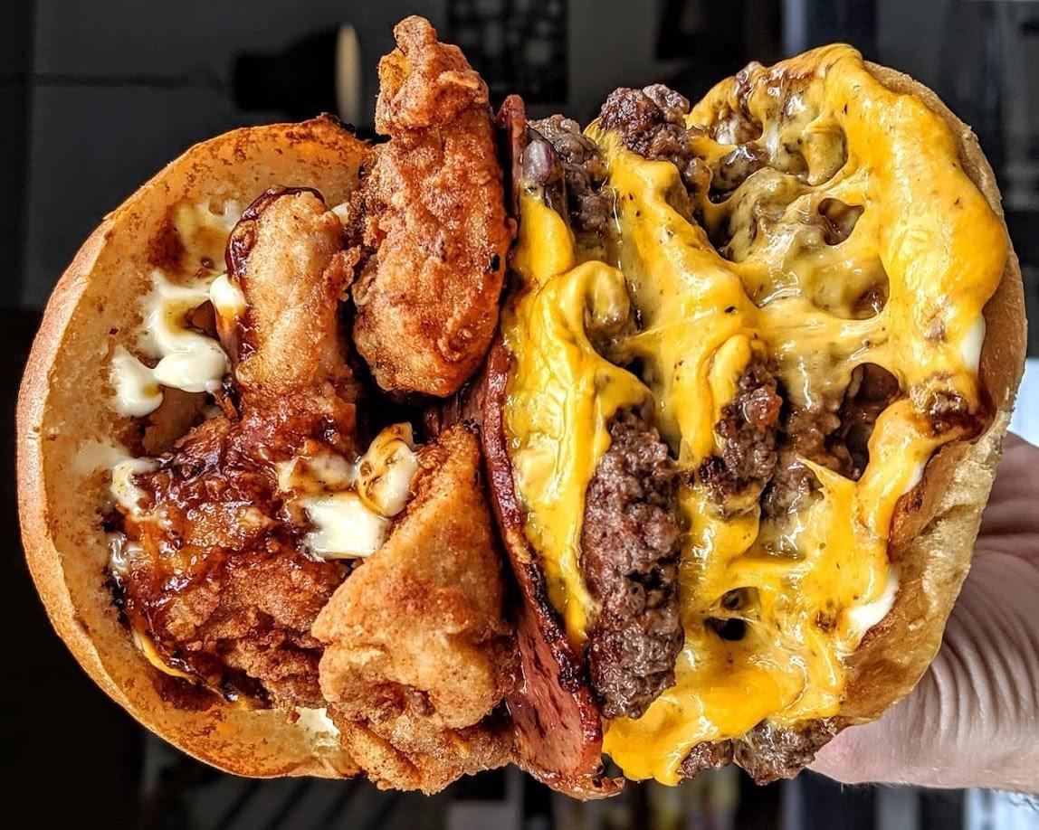 cheat meal hamburguesa
