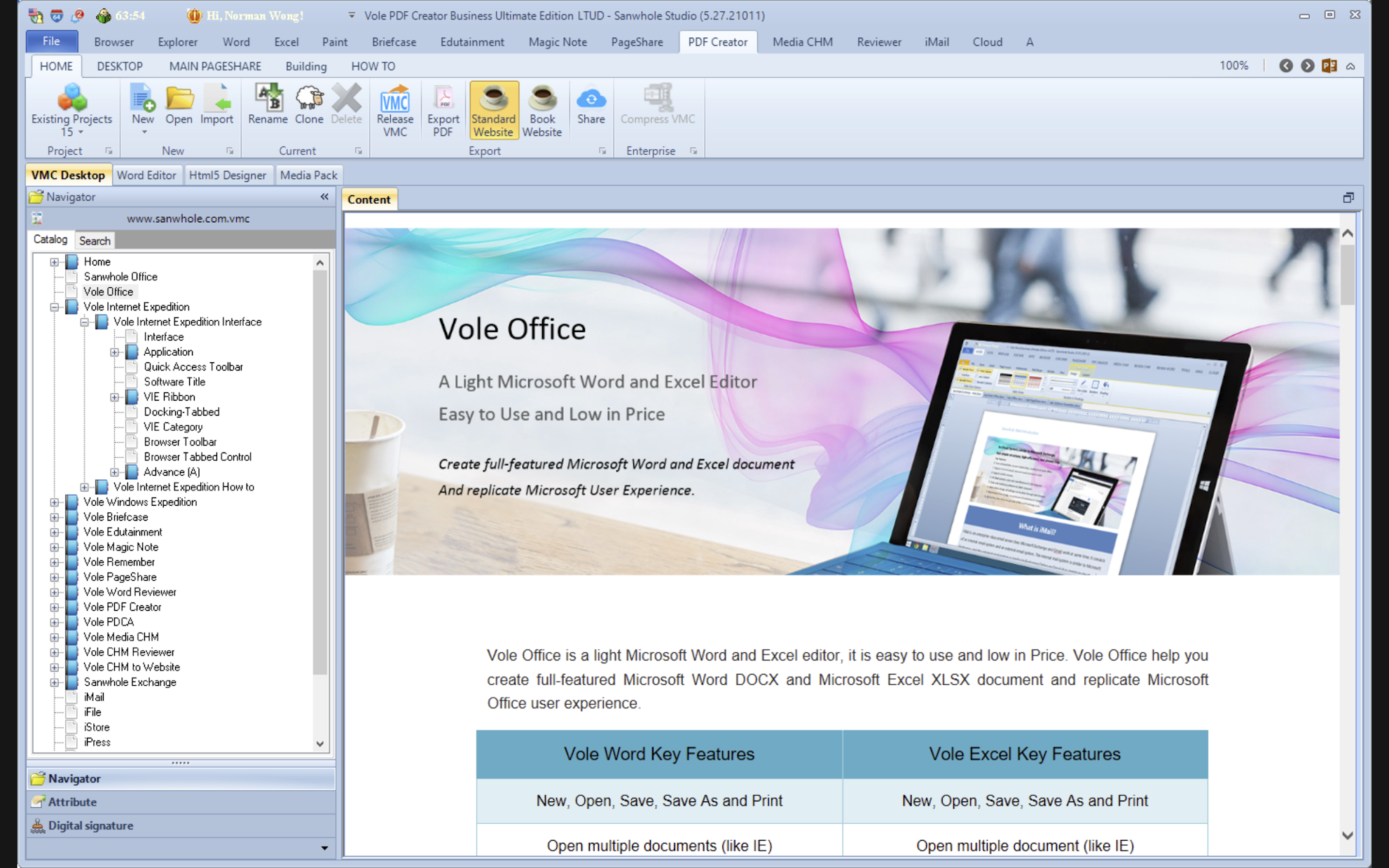 [Free Giveaway] Vole PDF Creator Professional Edition v5.26.20125 Registration Code to Build Professional PDF Documents
