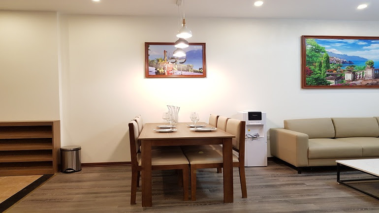 Modern 1 – bedroom apartment with good size in Tay Ho street, Tay Ho district for rent
