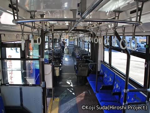 JRバス関東 白河 ボルボ連節バス 1337 車内