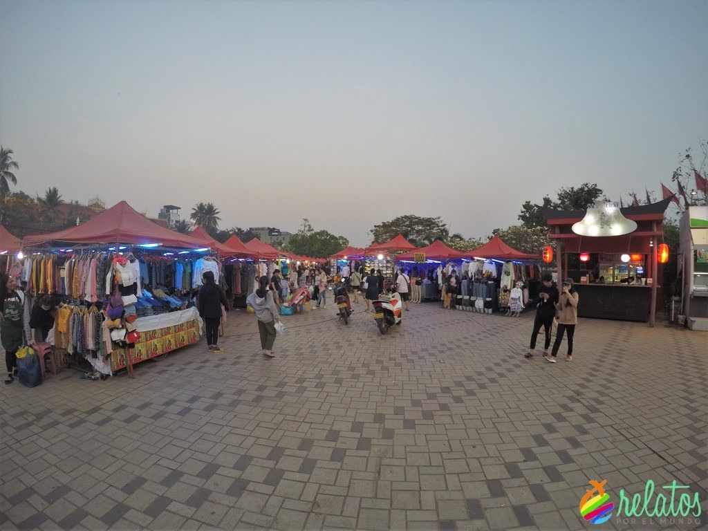 Mercadillo Vientiane