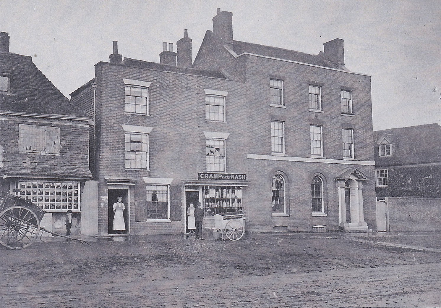Lloyds Bank 6 High Street Tenterden in about 1900