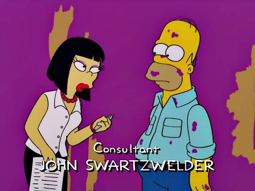 Los Simpsons 14x04 Las curvas de Marge