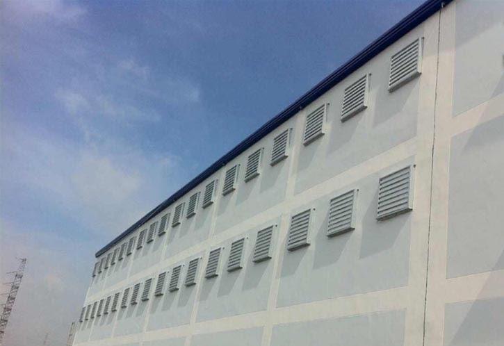 phương pháp làm mát nhà xưởng bằng gió tự nhiên