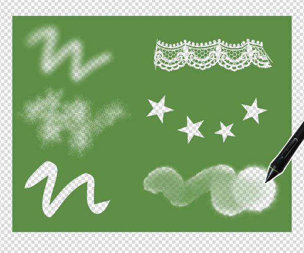 クリスタの描画ツール合成モード「消去」