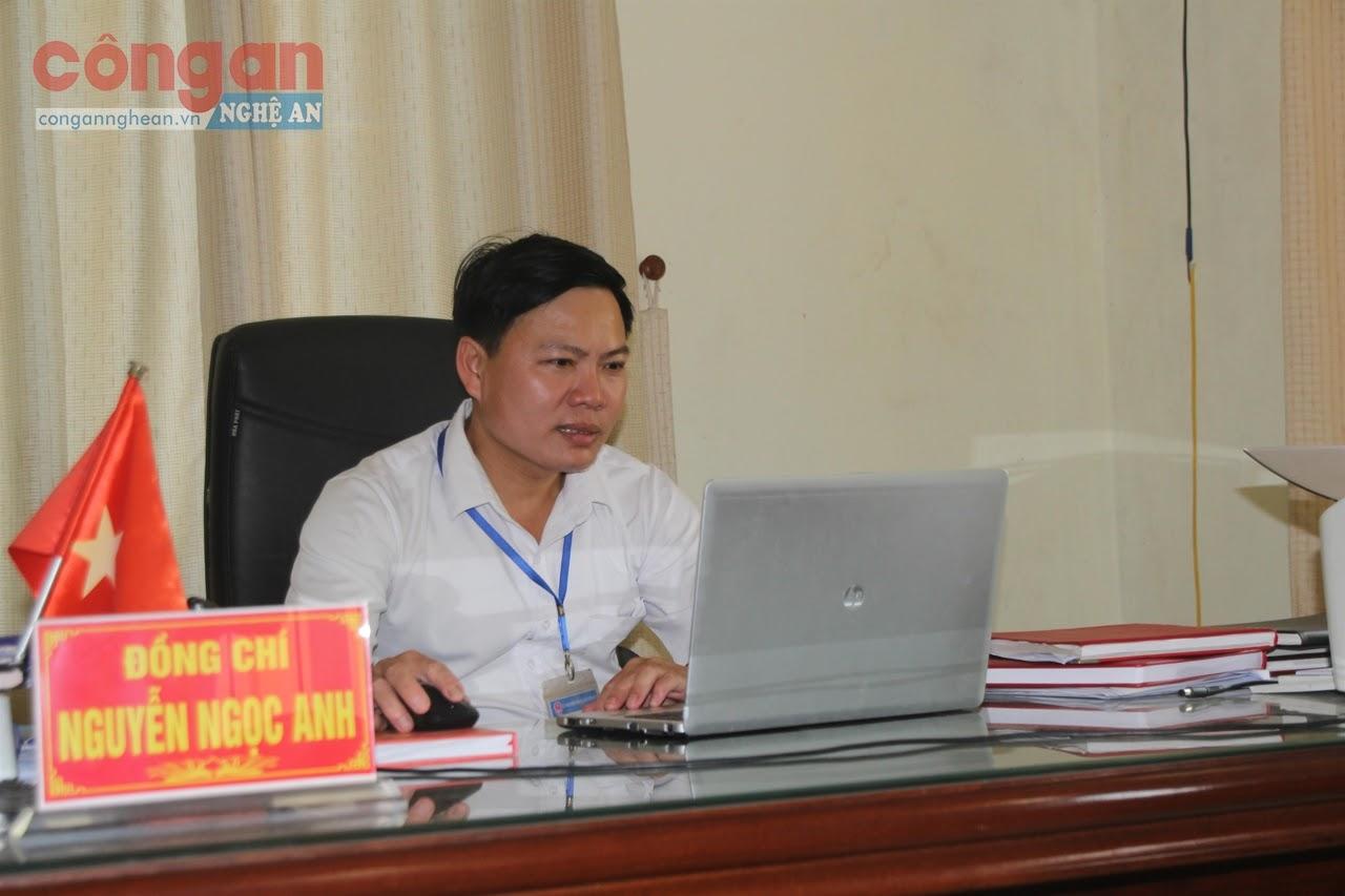 Đồng chí Nguyễn Ngọc Anh,                                          Chủ tịch UBND xã Nghi Công Bắc