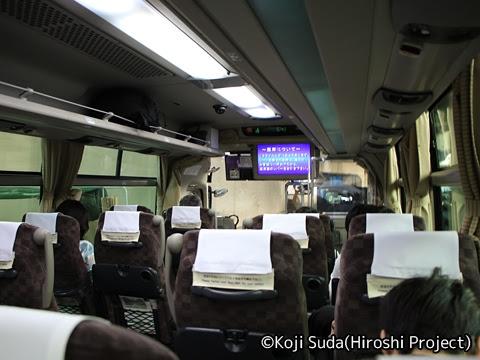 京王バス「中央高速バス白馬線」 車内_02