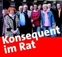 Wahlplakat: Genoss:innen, «Konsequent im Rat».