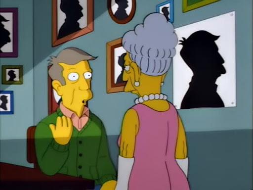 Los Simpsons 9x02 Vida prestada