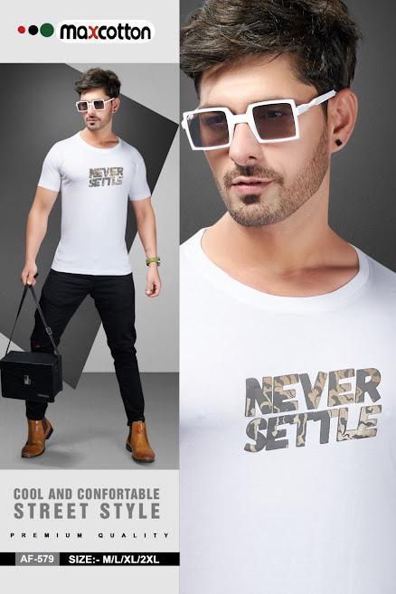Maxcotton Af 579 Mens Tshirts Catalog Lowest Price