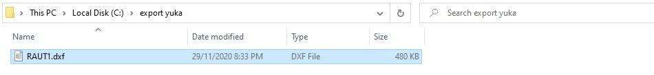 Cách Export Dxf Bộ Rập Pan Hoặc Pax Của Yuka SuperAlpha-Plus 17