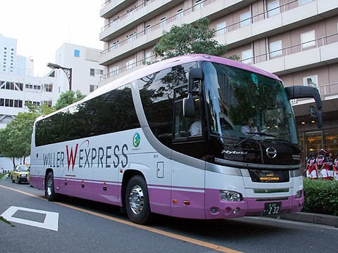 ウィラーエクスプレス 大阪「ビジネスクラス」 ・232