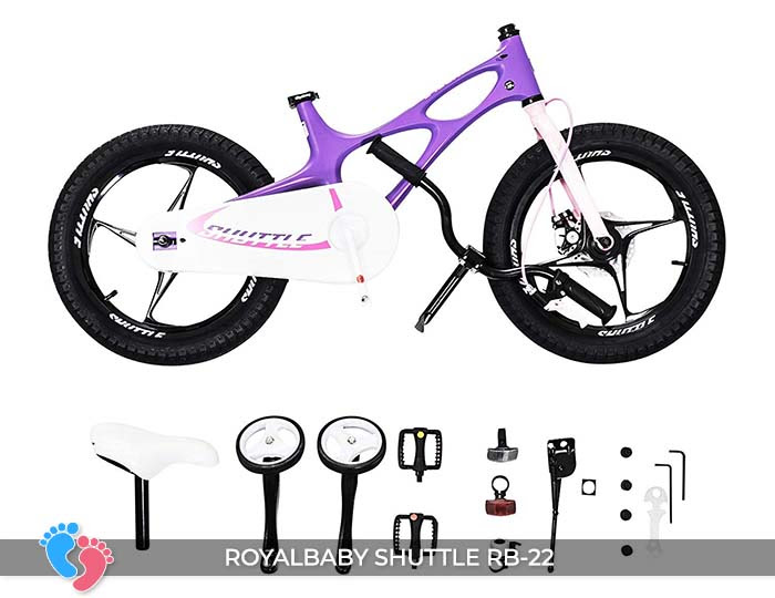 Xe đạp trẻ em Royal Baby Shuttle RB-B22 16