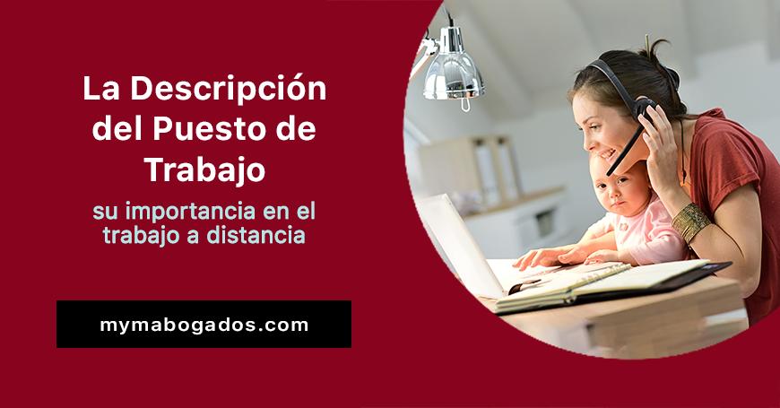 La Descripción del Puesto de Trabajo; su importancia en el trabajo a distancia | Melián Abogados