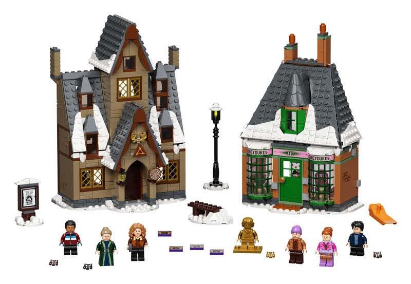 Contenido de LEGO® 76388 Visita a la Aldea de Hogsmeade™