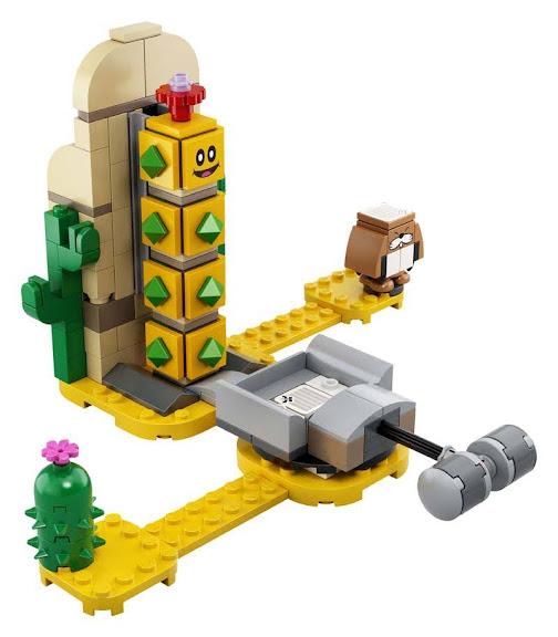 Contenido de Lego® 71363 Set de Expansión: Pokey del Desierto