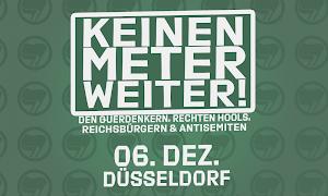 Banner: Keinen Meter weiter! …