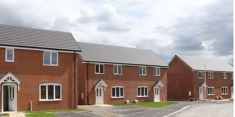 Welshpool's new housing development welcomes first residents