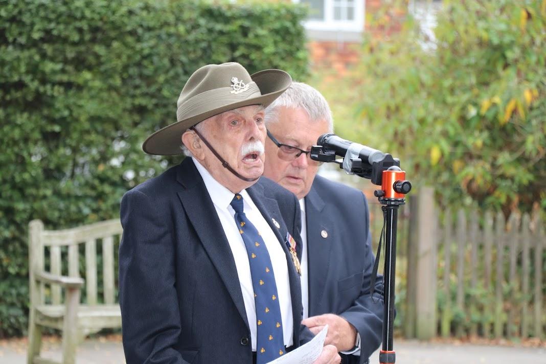 VJ Day 75 Commemoration in Tenterden