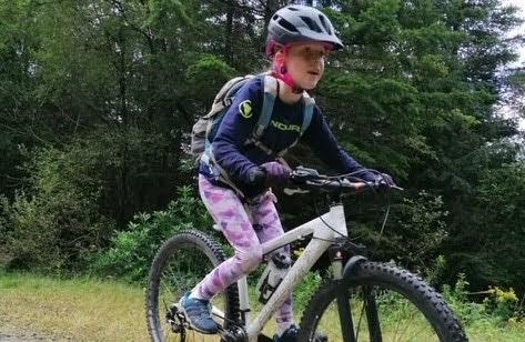 Seren raises £250 after running, cycling and walking