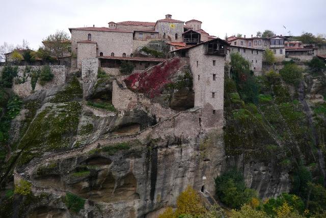 メガロ メテオロン修道院