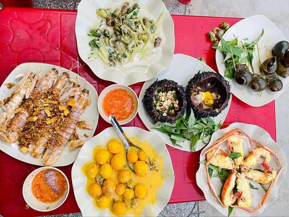 Quán Sài Gòn ốc, nhum ở Dương Quảng Hàm, Gò Vấp