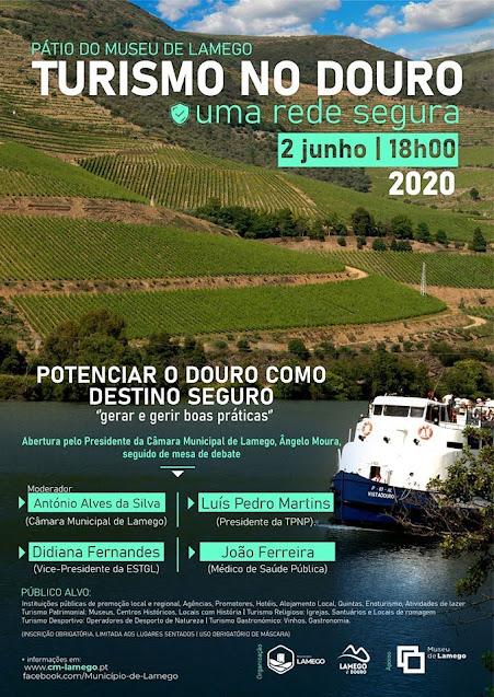 TRC acolhe conferência dedicada ao turismo no Douro