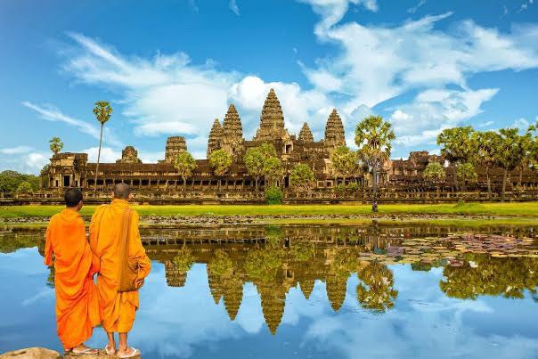 Férias no Cambodja