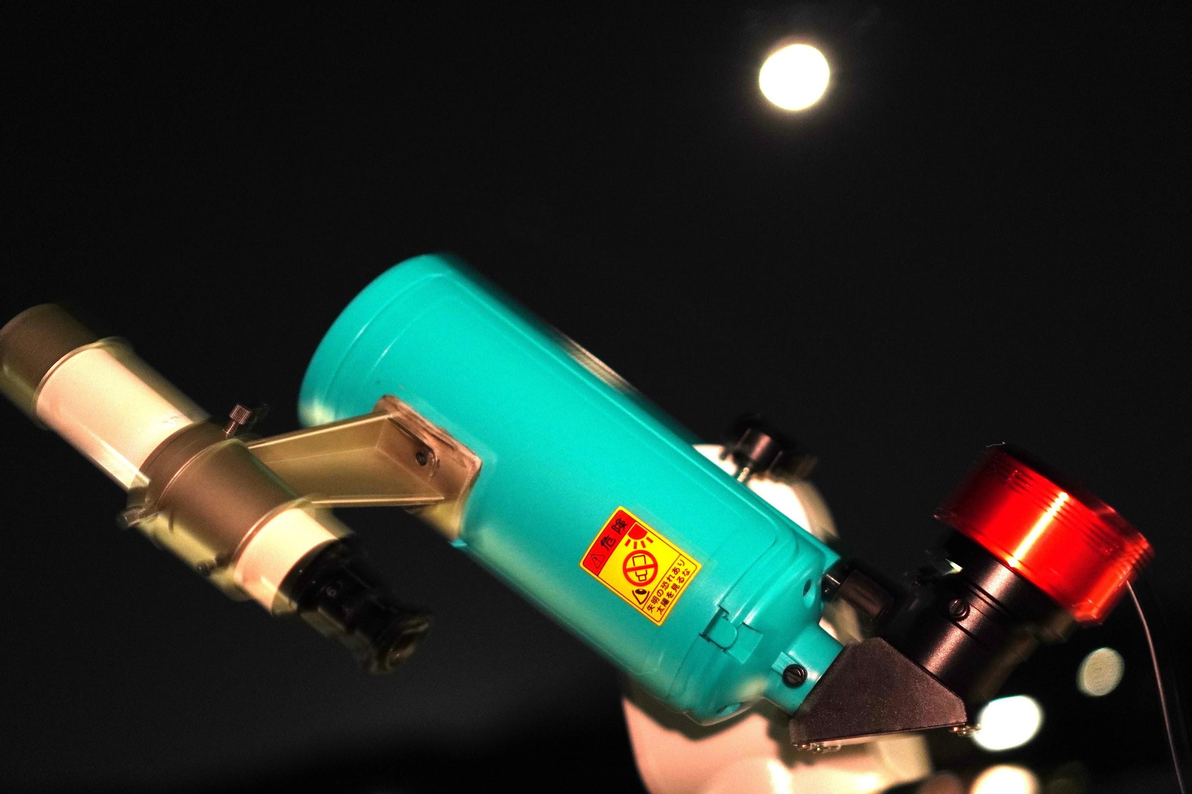 オモチャみたいな天体望遠鏡 MAKSY60で「M42オリオン大星雲」 を撮ってみました