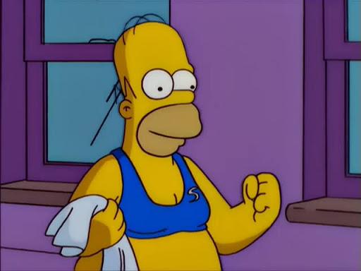 Los Simpsons 11x18 Días de vino y rosas