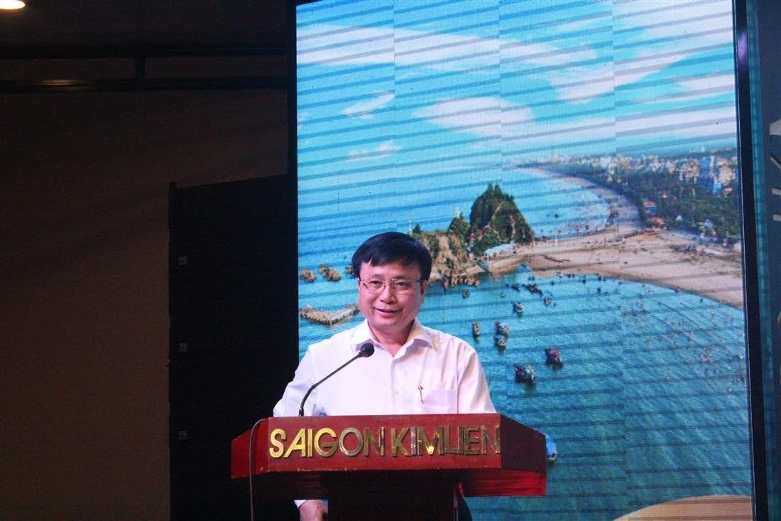 Đồng chí Bùi Đình Long, Phó Chủ tịch UBND tỉnh phát biểu