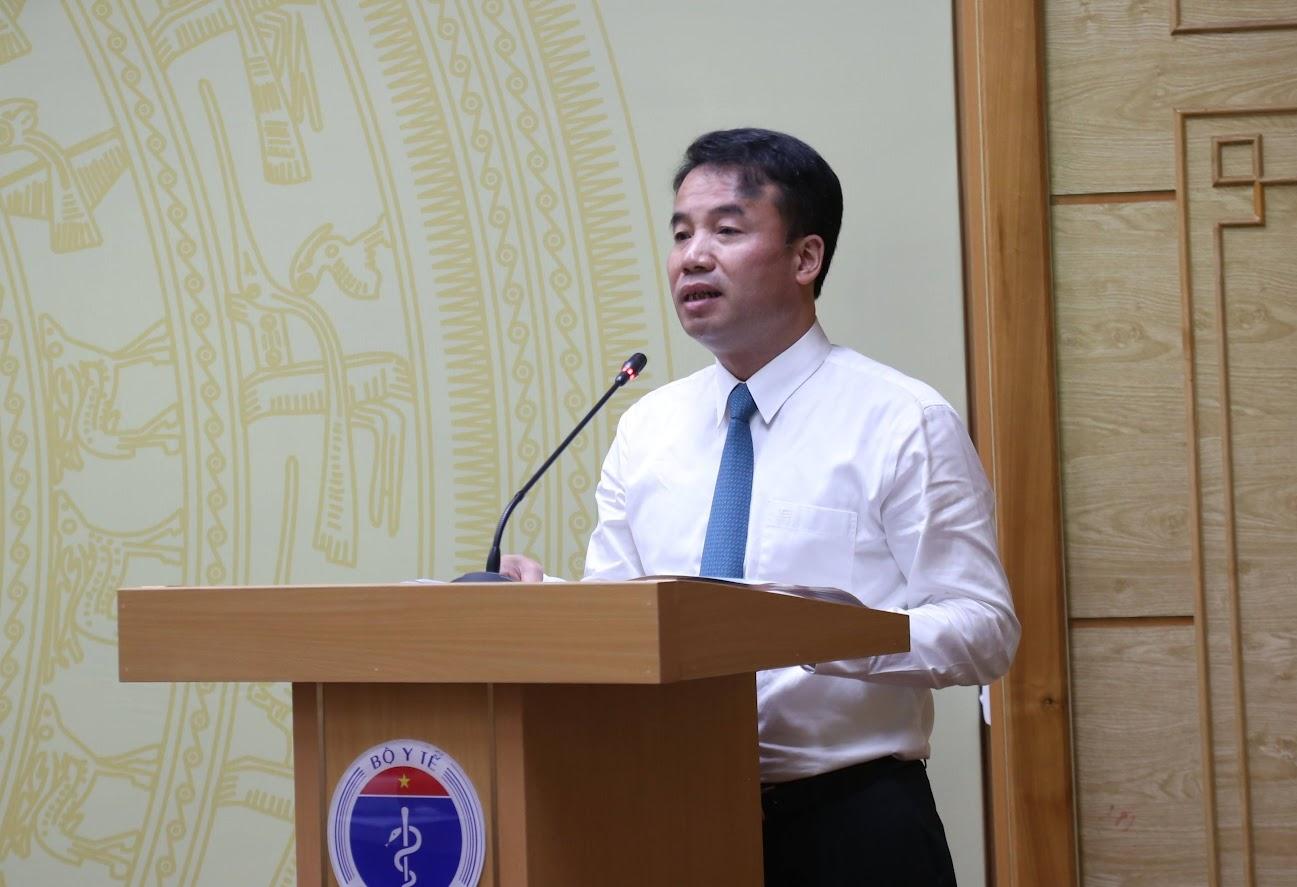 Ông Nguyễn Thế Mạnh, Tổng Giám đốc BHXH Việt Nam phát biểu tại buổi lễ