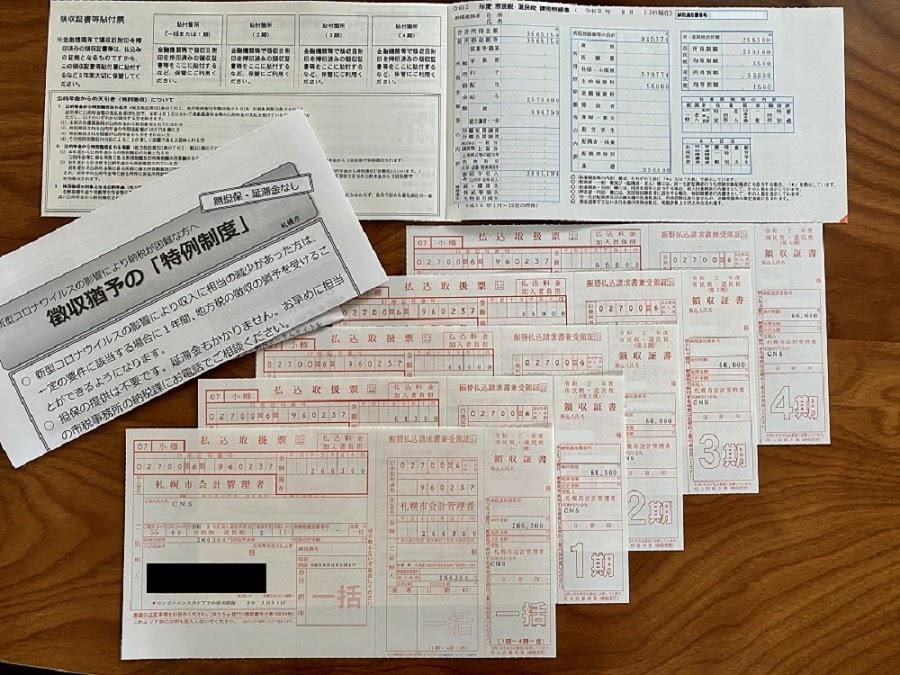令和2年度・住民税